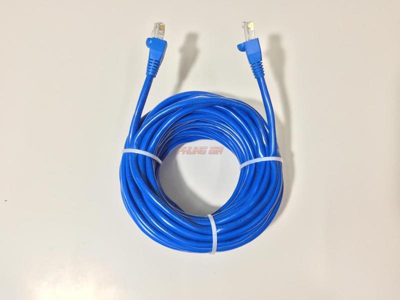 Bảng giá Dây mạng LAN 10 Mét HT-Cat5E UTP - Bấm sẵn 2 đầu Phong Vũ