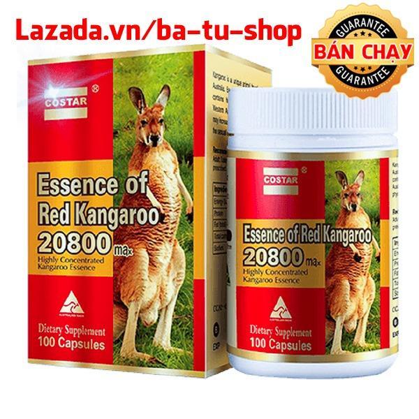 Viên uống nâng cao sinh lý Costar Essence of Red Kangaroo 20800 Max (100 viên) nhập khẩu