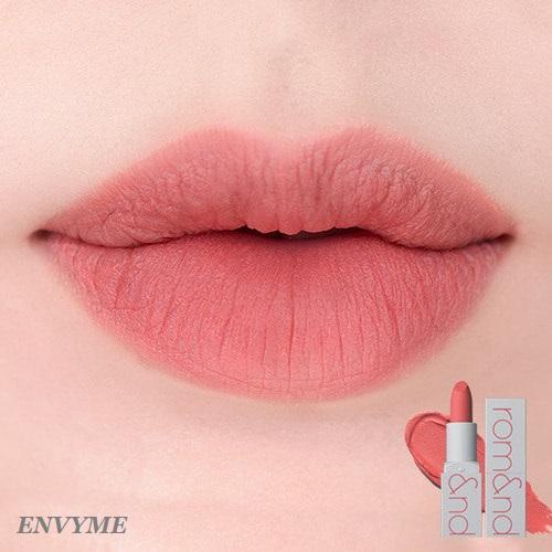 Kết quả hình ảnh cho romand zero gram matte lipstick envy me