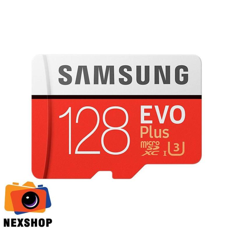 Thẻ nhớ MicroSD Evo+ Samsung 128 GB  100Mb/s-90Mb/s  Nhập khẩu