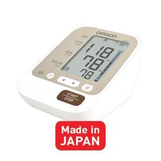 Máy đo huyết áp bắp tay tự động Omron Jpn600 (made in Japan), chất lượng đảm bảo an toàn đến sức khỏe người sử dụng, cam kết hàng đúng mô tả thumbnail