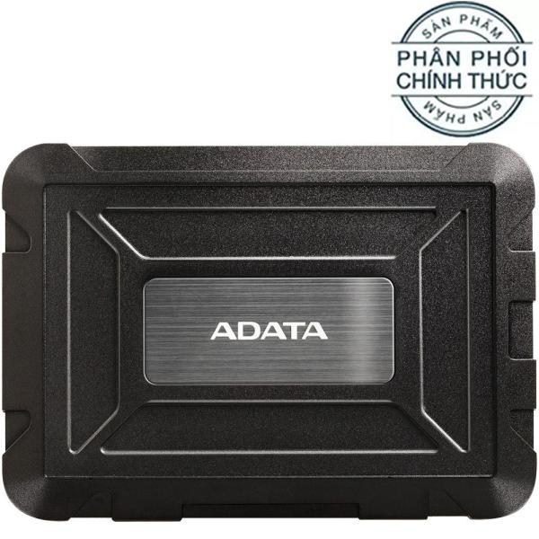 Bảng giá Box ổ cứng di động chống Sock HDD-SSD 2.5 inches USB 3.1 ADATA ED600 (EAD600U31-CBK) - Hãng Phân Phối Chính Thức Phong Vũ