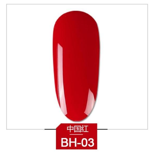 Sơn móng gel AS đỏ chọn lẻ 6 màu BH chai 15ml