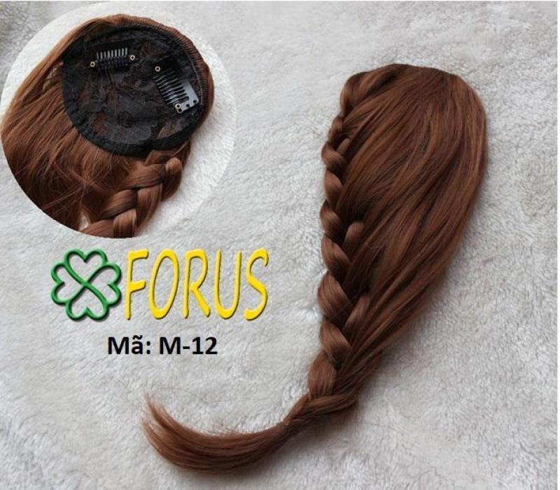 Tóc mái tết đuôi sam M12 [nâu đỏ 2/33] nhập khẩu