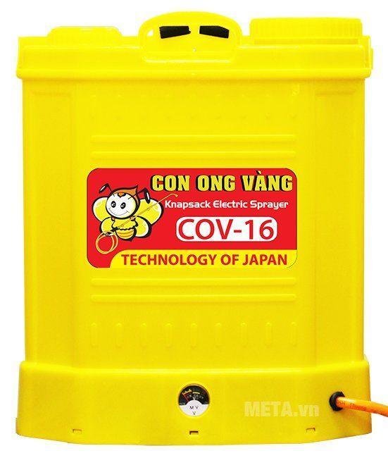 Bình Xịt Điện Con Ong Vàng 16