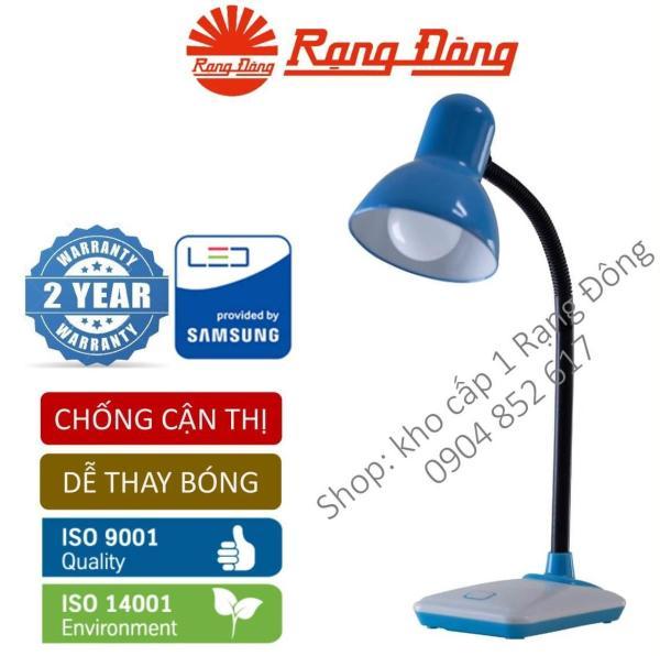 Đèn bàn LED Rạng Đông 5W bảo vệ thị lực thay bóng dễ dàng không tia UV & cực tím Mới