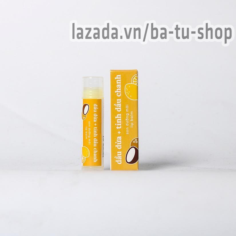 Son dưỡng môi mềm mịn, giảm thâm môi Cocoon cao cấp