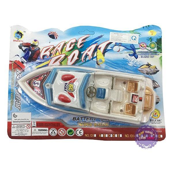 Hình ảnh Vỉ đồ chơi tàu cano chạy pin dưới nước Race Boat