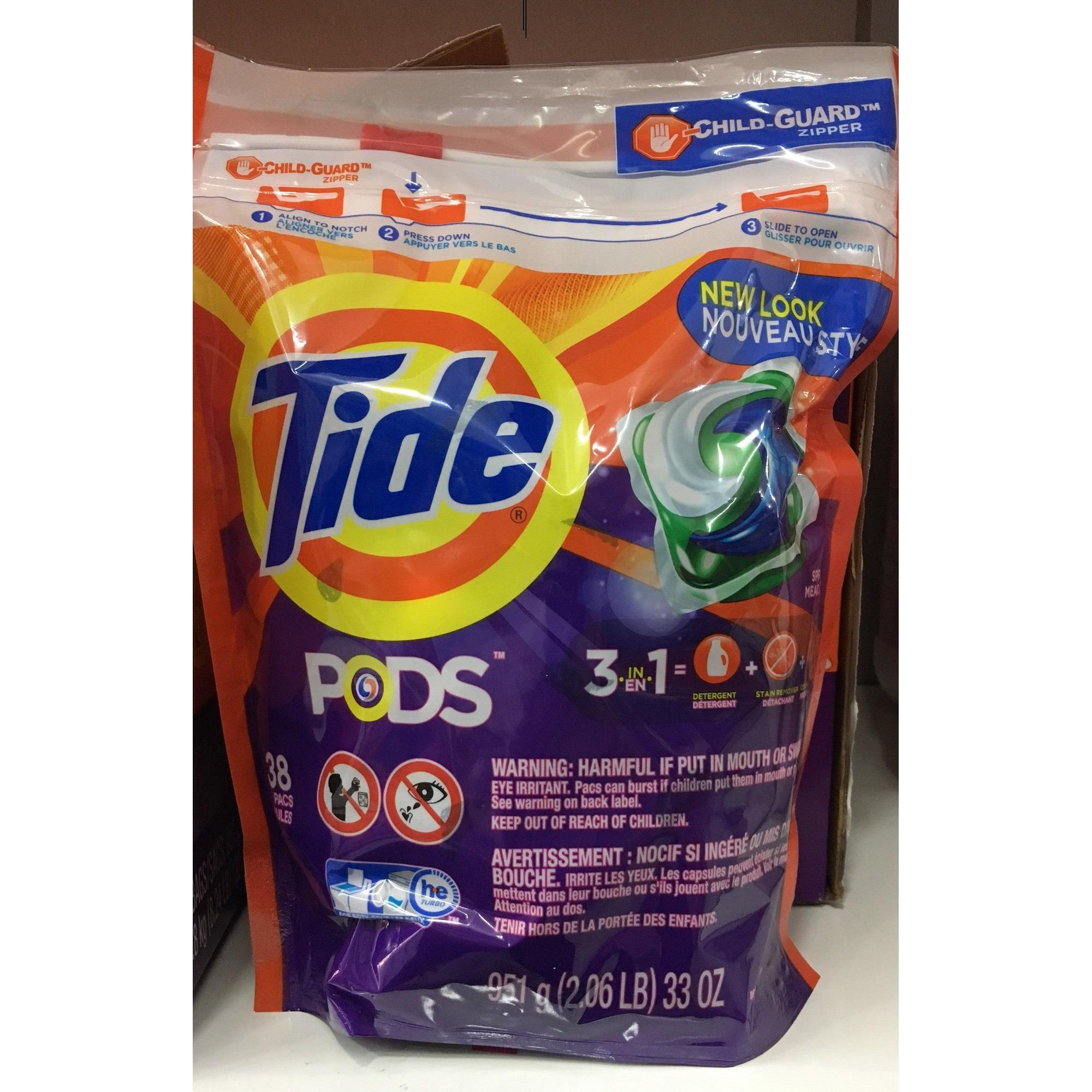Bán Vien Giặt Tide Pods Tui 38 Vien Nguyên