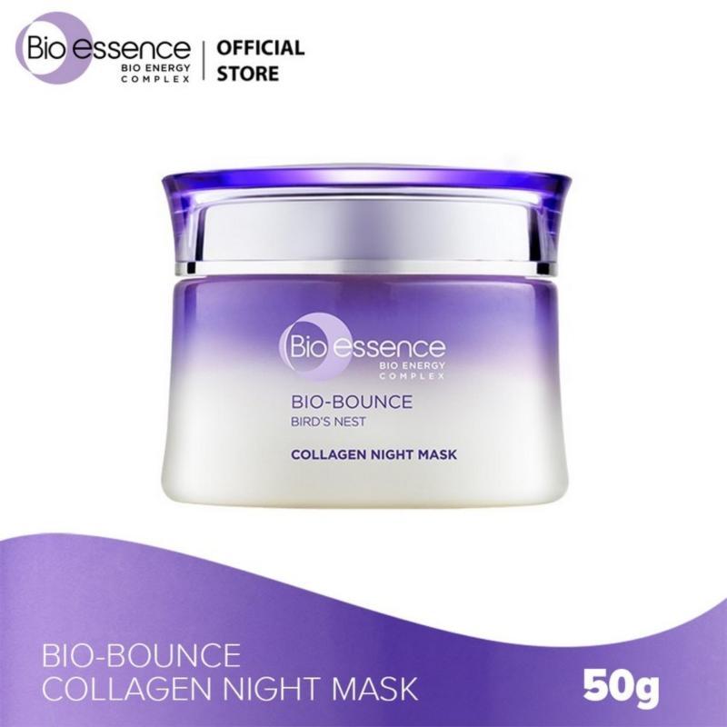 Mặt nạ ngủ dưỡng da Bio-Bounce Collagen Night Mask Bio-essence 50g nhập khẩu
