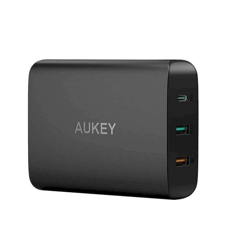 Giá Sạc 3 Cổng Aukey 74.5W USB Type C Power Delivery PD 3.0 + Quick Charge QC 3.0 + AiPower - PA-Y13