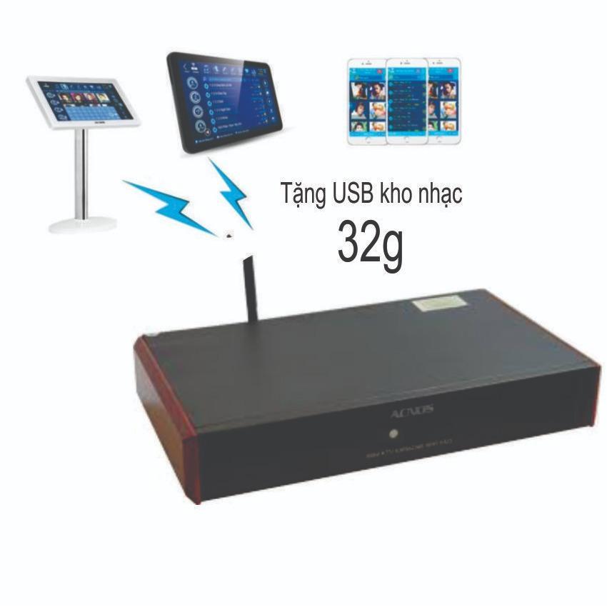 Giá Bán Rẻ Nhất Đầu Karaoke Acnos Wifi Km3 Tặng Usb 32 Gb