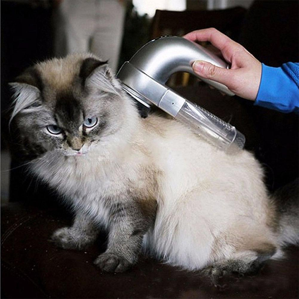 Pet Vacuum Fur Cleaner Hair Electric Pet Cat Dog Vacuum Fur Cleaner Hair  Remover Puppy Vacuum Fur Trimmer Grooming Tool Pet Cat Dog Beauty  Accessories