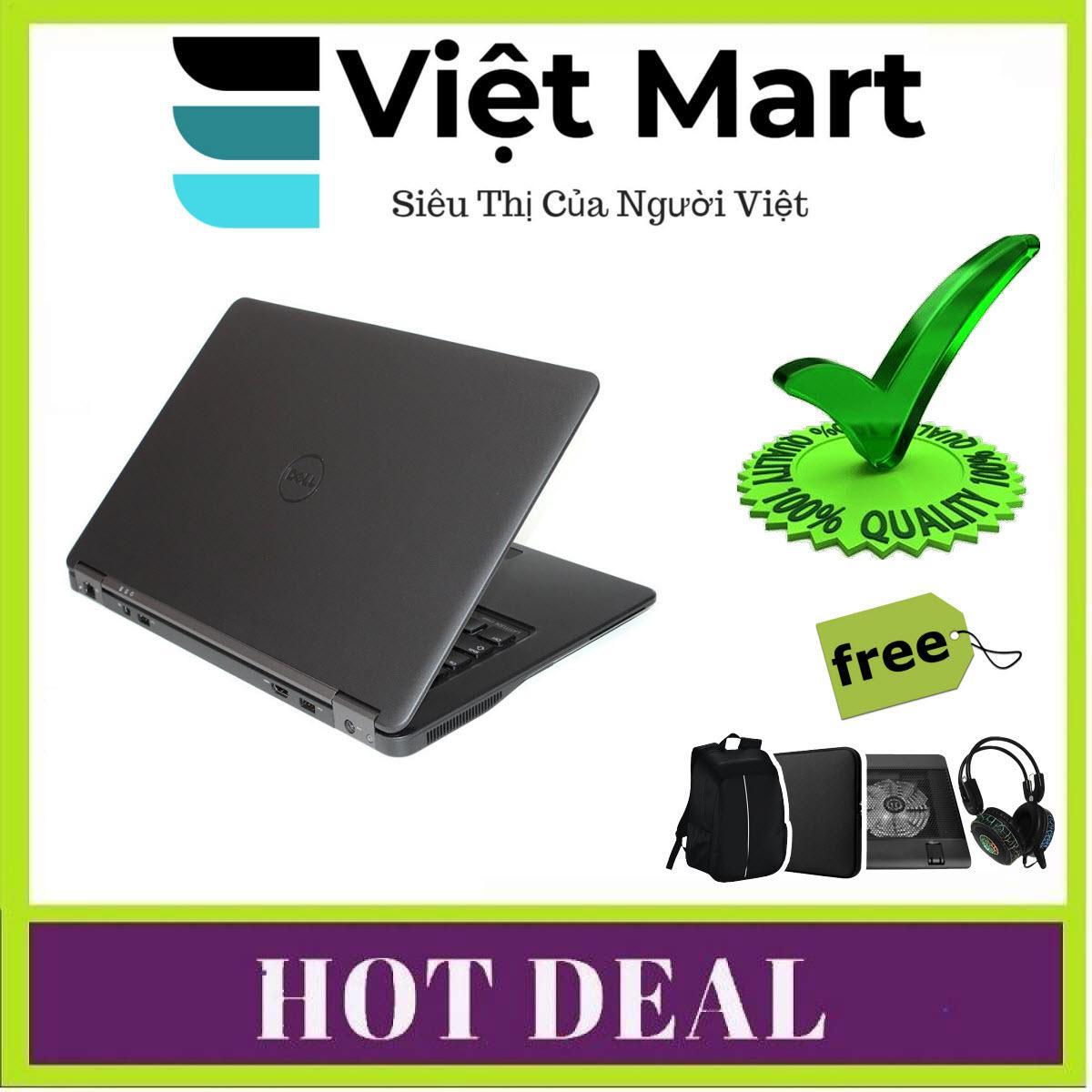 Laptop Dành Cho Doanh Nhân Dell Latitude E7450 (i5-5300U, 14inch, 8GB, HDD 500GB) + Bộ Quà Tặng - Hàng Nhập Khẩu