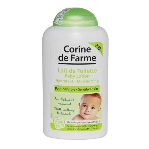 Corine De Farme Kem Dưỡng Da Cho Bé Baby Lotion 250ml cao cấp