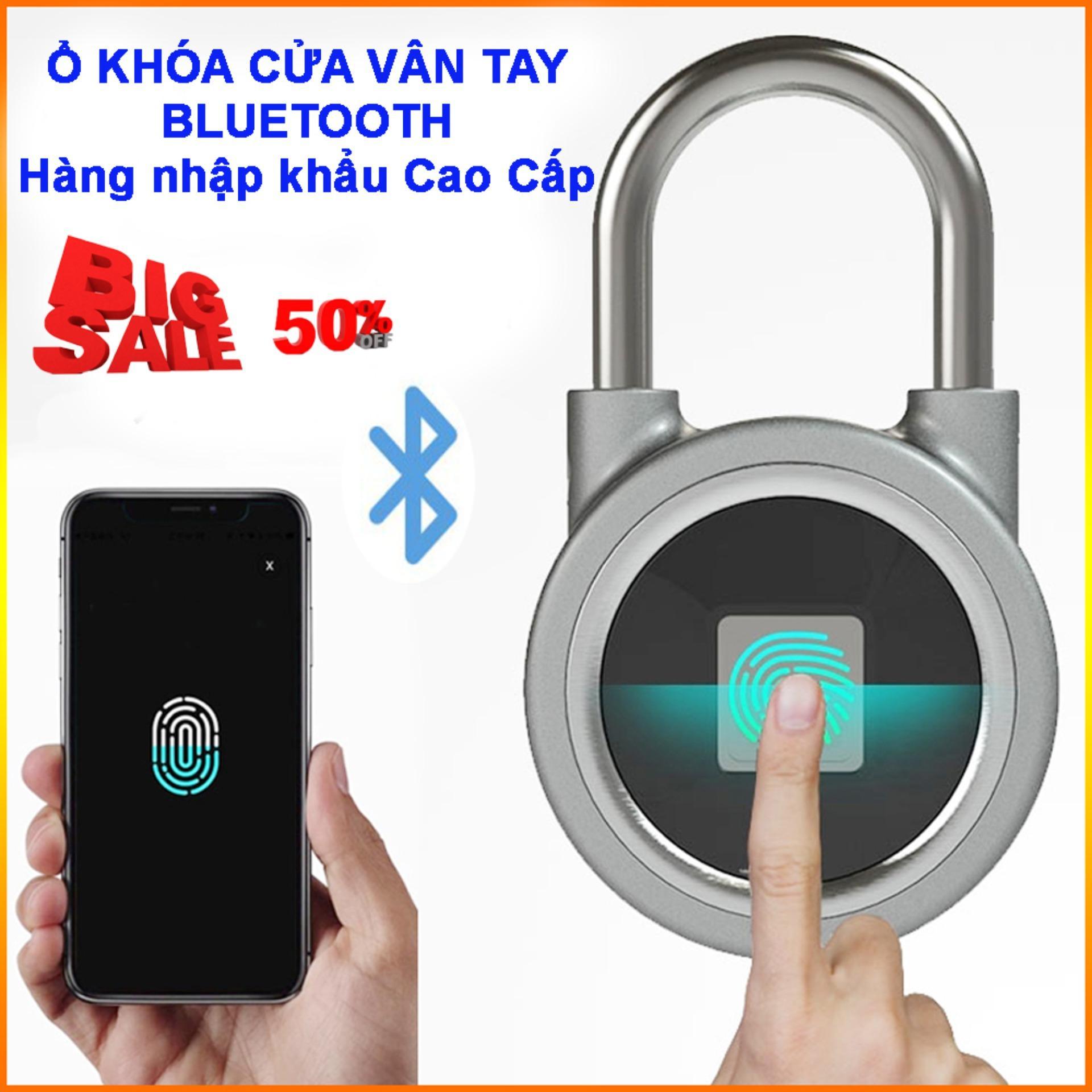 Khóa  vân tay - ổ khóa chống trộm  - Ổ khóa cửa vân tay - hàng cao cấp - uy tín - chất lượng - BH uy tín 1 đổi 1 bởi Bách Hóa HT