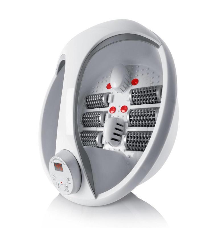 ( Tặng Gói tẩy lồng vệ sinh máy giặt HQ 450g)Bồn massage chân đa năng Rio FTBH 4 chức năng tiện lợi (trắng) 4EU- nhập khẩu Anh Quốc cao cấp