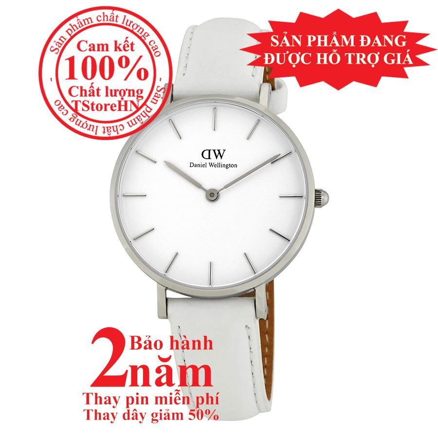Nơi bán Đồng hồ nữ DW Classic Petite Bondi Ladies Watch - 32mm- màu Bạc (Silver), mặt Trắng (Silver) DW00100190