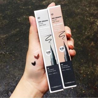 Bút Dạ Kẻ Mắt The Face Shop Ink Graffi Brush Pen Liner thumbnail