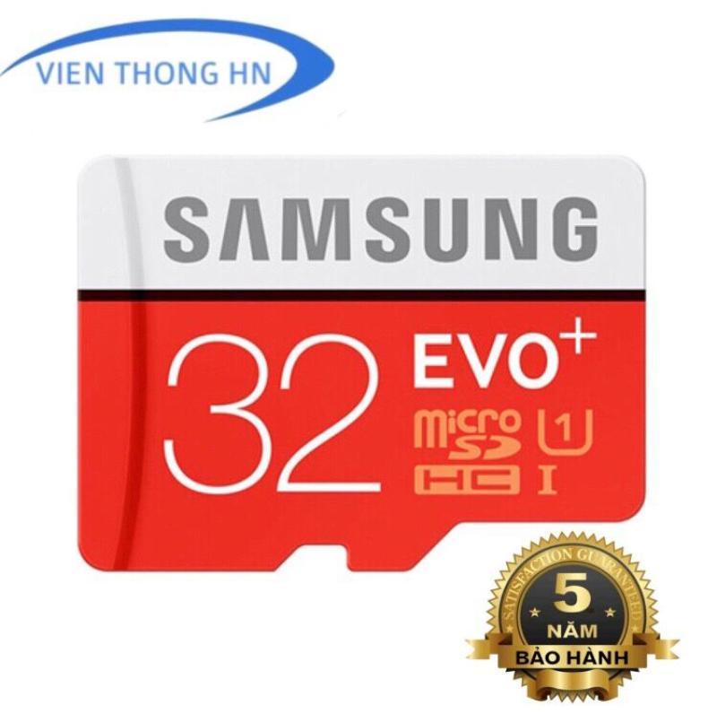 Thẻ nhớ MicroSDHC Samsung EVO Plus 32GB - BH 5 NĂM