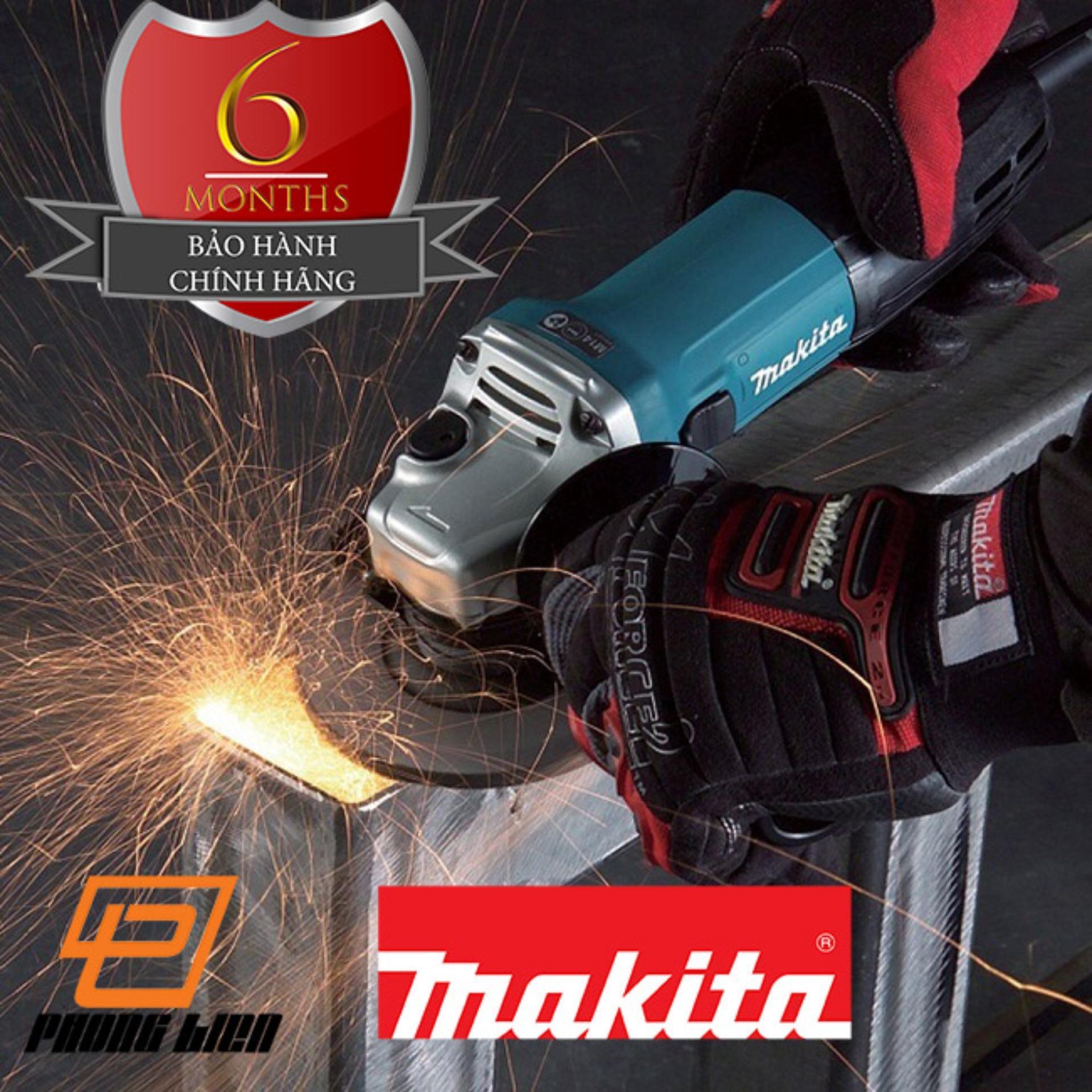 Máy mài góc Makita GA6020 công suất 1050W dùng đá cắt 150mm