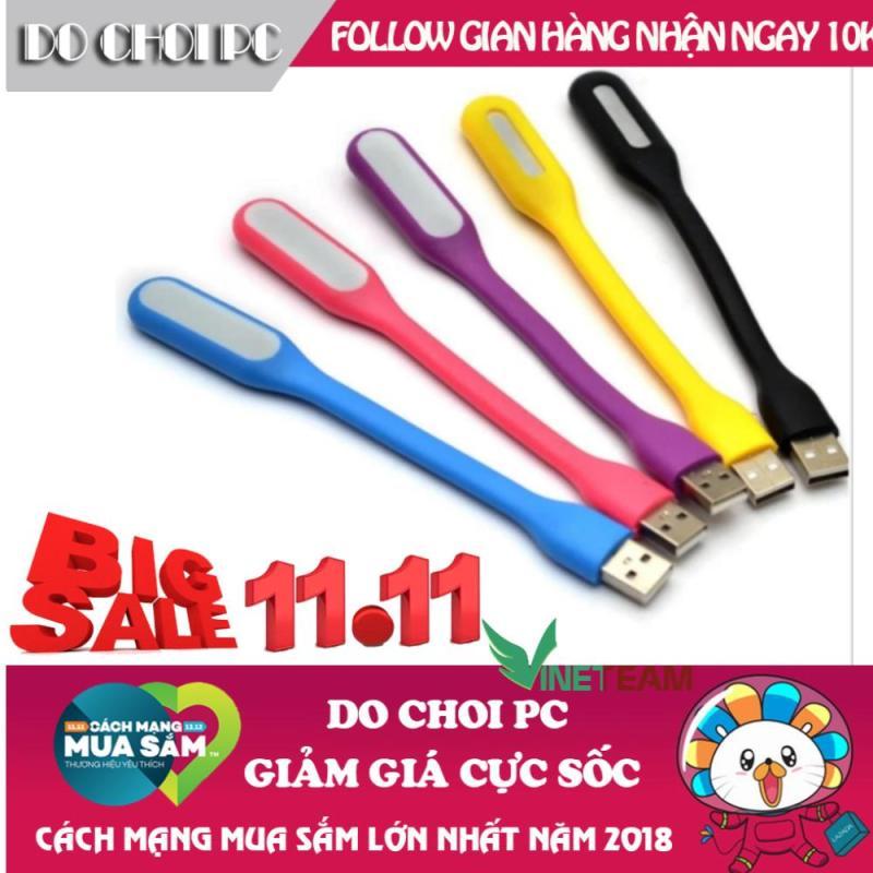 Bảng giá Bộ 4 đèn LED USB siêu sáng cắm nguồn usb (màu ngẫu nhiên), Đẹp hơn đèn led sạc để bàn đèn học kiêm đèn ngủ, Đèn ngủ để bàn gỗ phong cách Mỹ cao cấp DN19 Phong Vũ