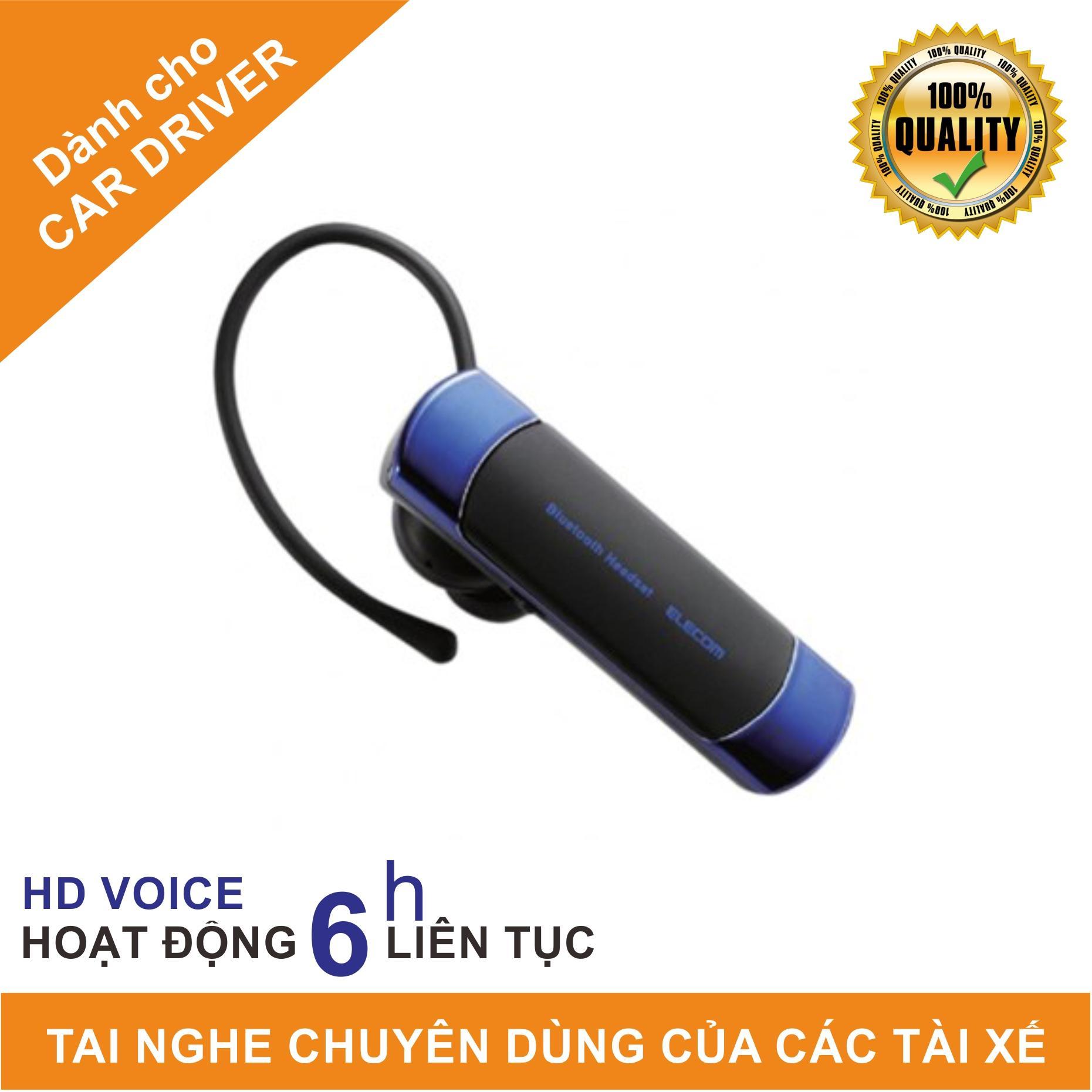 Tai nghe 1 bên Bluetooth kèm Mic ELECOM LBT-HS20M