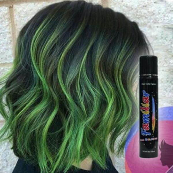 Keo xịt tóc màu Familiar 100ml - Màu H1 xanh lá giá rẻ