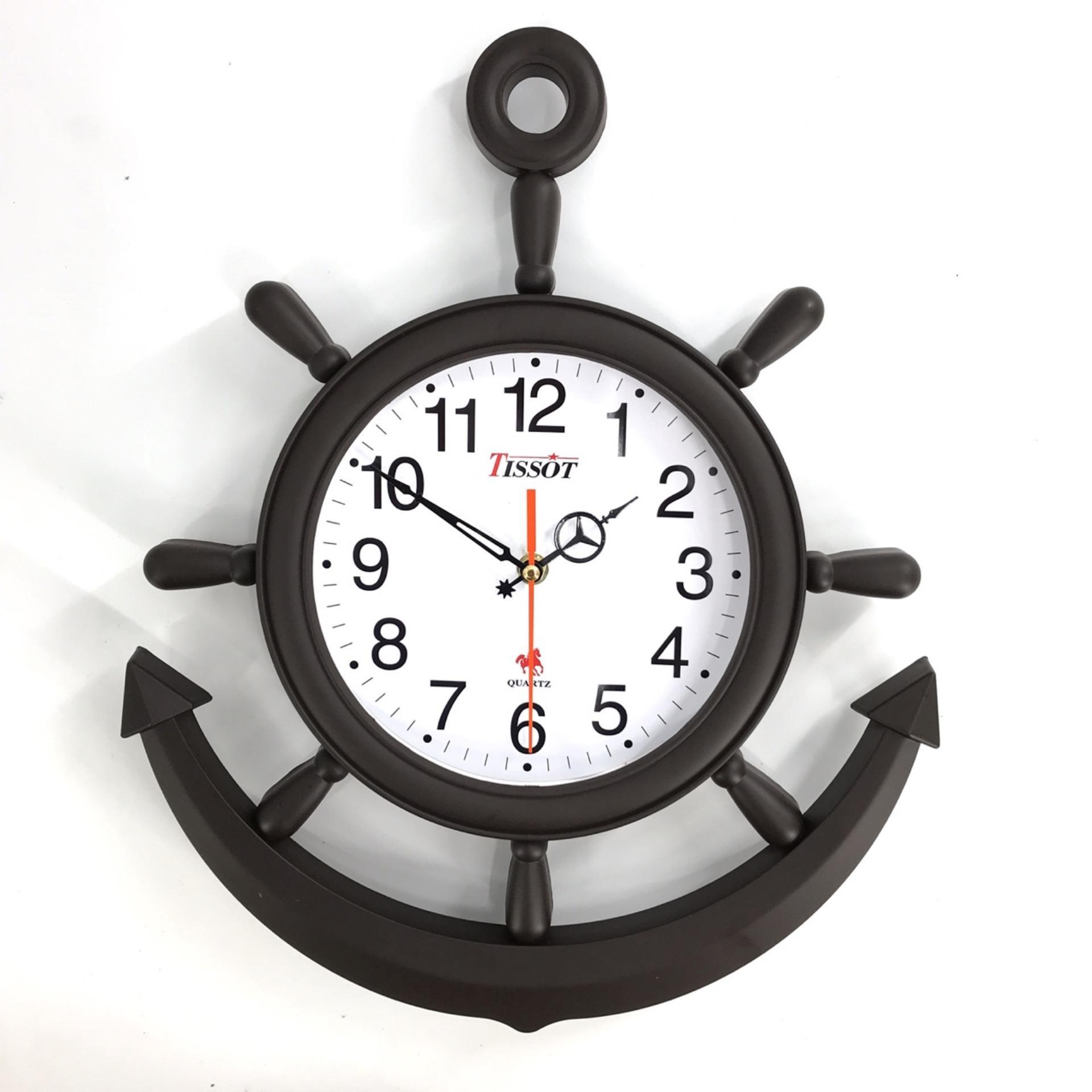 Nơi bán [ VATI] Đồng hồ treo tường mỏ neo S104