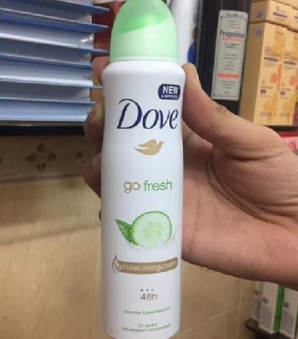 Xịt khử mùi Dove 150ml - DƯA LEO cao cấp