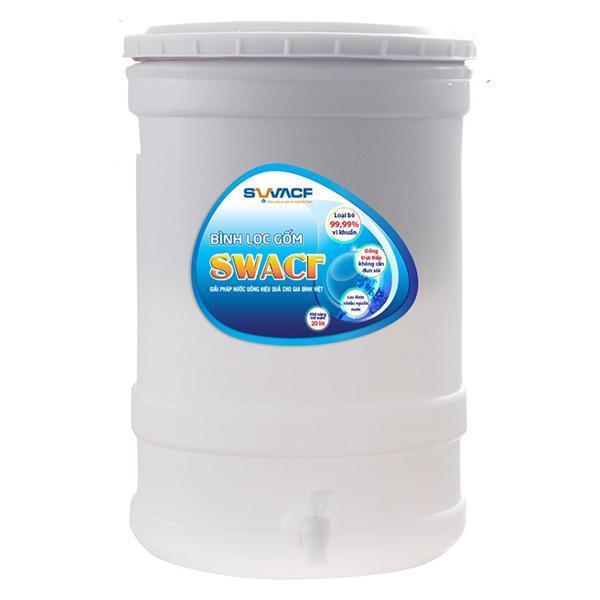 Bình lọc nước lõi gốm SWACF công nghệ Mỹ do Unicef tài trợ