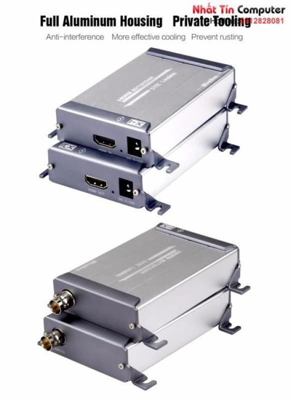 Bảng giá Bộ kéo dài HDMI 1080P qua cáp đồng trục 200M-300M MiraBox HSV379 LossLESS không độ trễ Phong Vũ