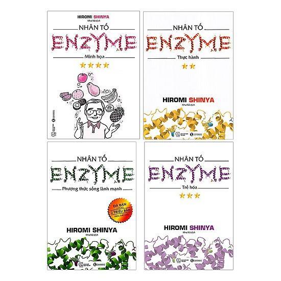 Mua Trọn Bộ Nhân Tố Enzym (4 cuốn)