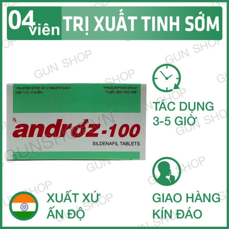 Tinh chất tăng cường sinh lực phái mạnh  Androz-100 [ Gunshop-TC01 ] (CT01)