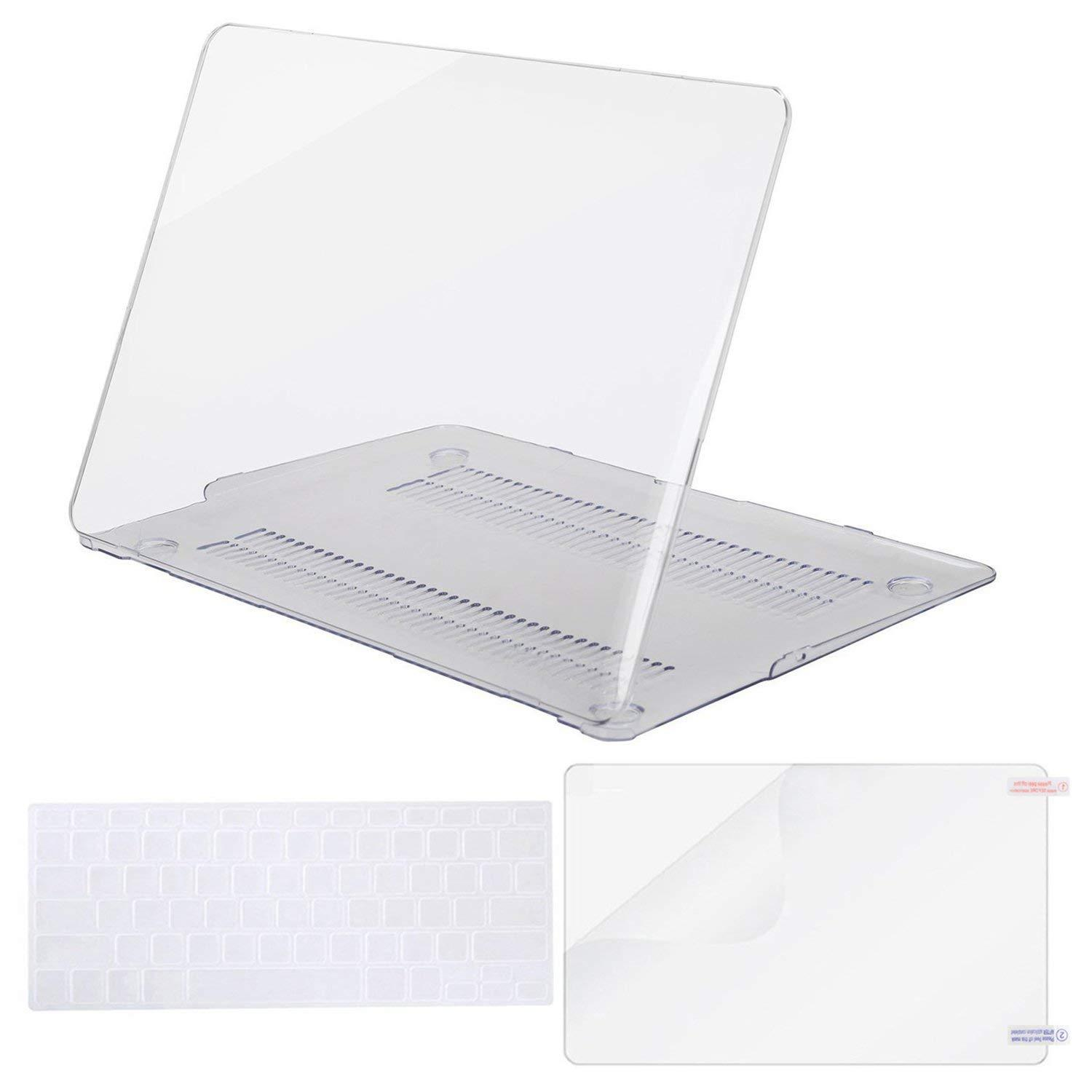 Bảng giá MacBook Plastic Hard Shell Case & Keyboard Cover Only Compatible MacBook Air 13 Inch (A1369 & A1466), Not Compatible 2018 Version A1932 with Retina Display Phong Vũ