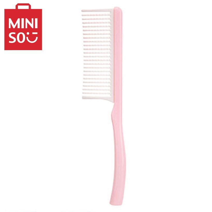 Lược chải tóc tay cầm nhỏ Miniso (Hồng) nhập khẩu