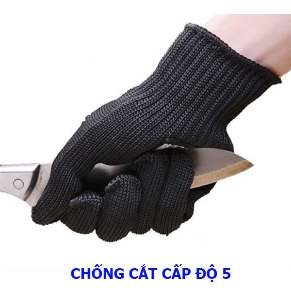 Hình ảnh Găng tay chống cắt ngoài trời cấp độ 5 - Hàng nhập khẩu