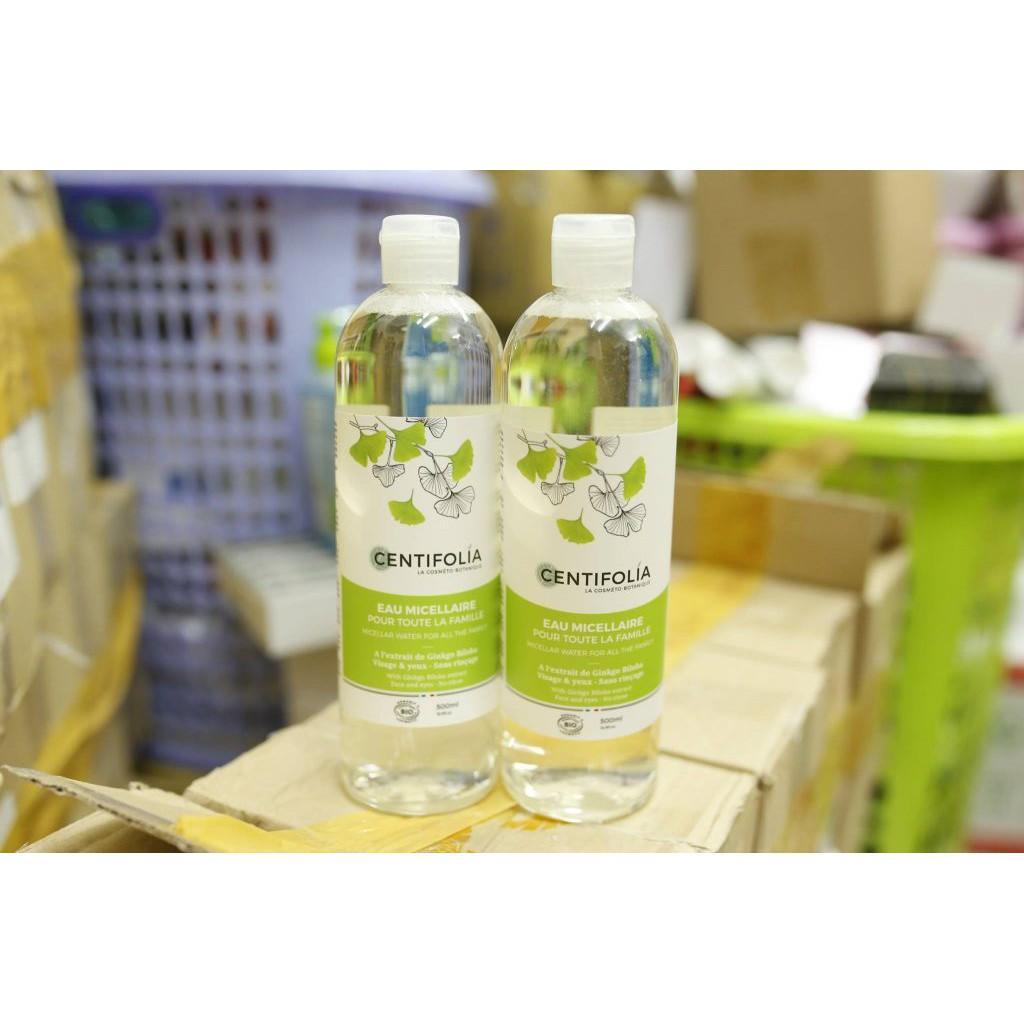 Nước tẩy trang rau má Centifolia 500ml