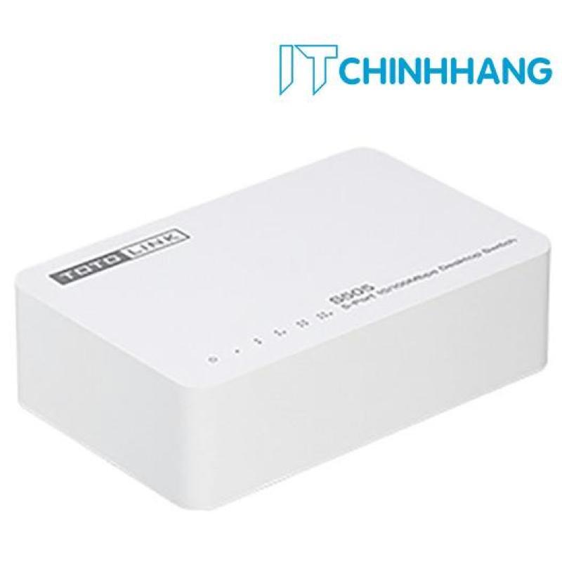 Bảng giá Switch ToToLink S505 / 5-Port 10/100Mbps - HÃNG PHÂN PHỐI CHÍNH THỨC Phong Vũ