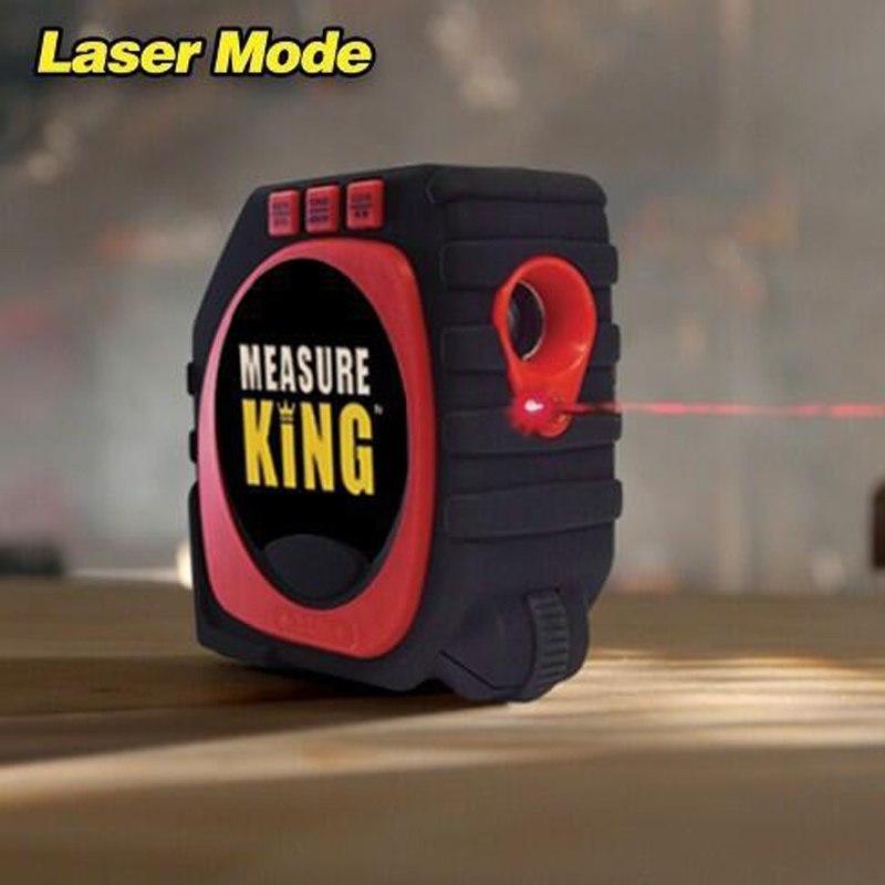 Thước đa năng kỹ thuật số Measure King 3-in-1 (Đen phối đỏ)