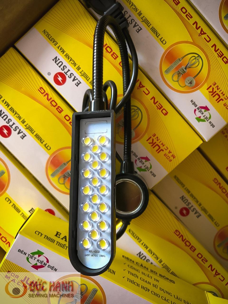Đèn led cần máy may công nghiệp và gia đình 20 bóng