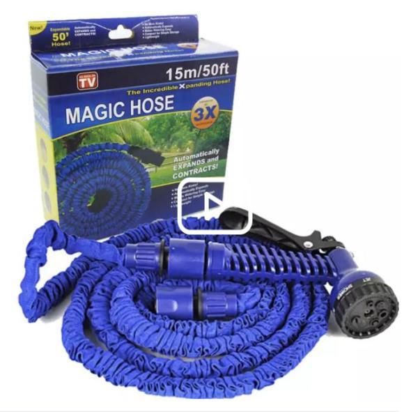 Vòi xịt đa năng co giãn 3 lần xhose , Voi xit da nang magic hose - Rửa xe ô tô, Vòi tưới cây thông minh HD30FT - Chất liệu CAO CẤP,dẻo , dai, bền