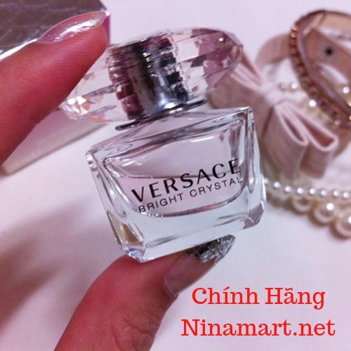 Nước hoa mini nữ Versace Bright Crystal 5ml