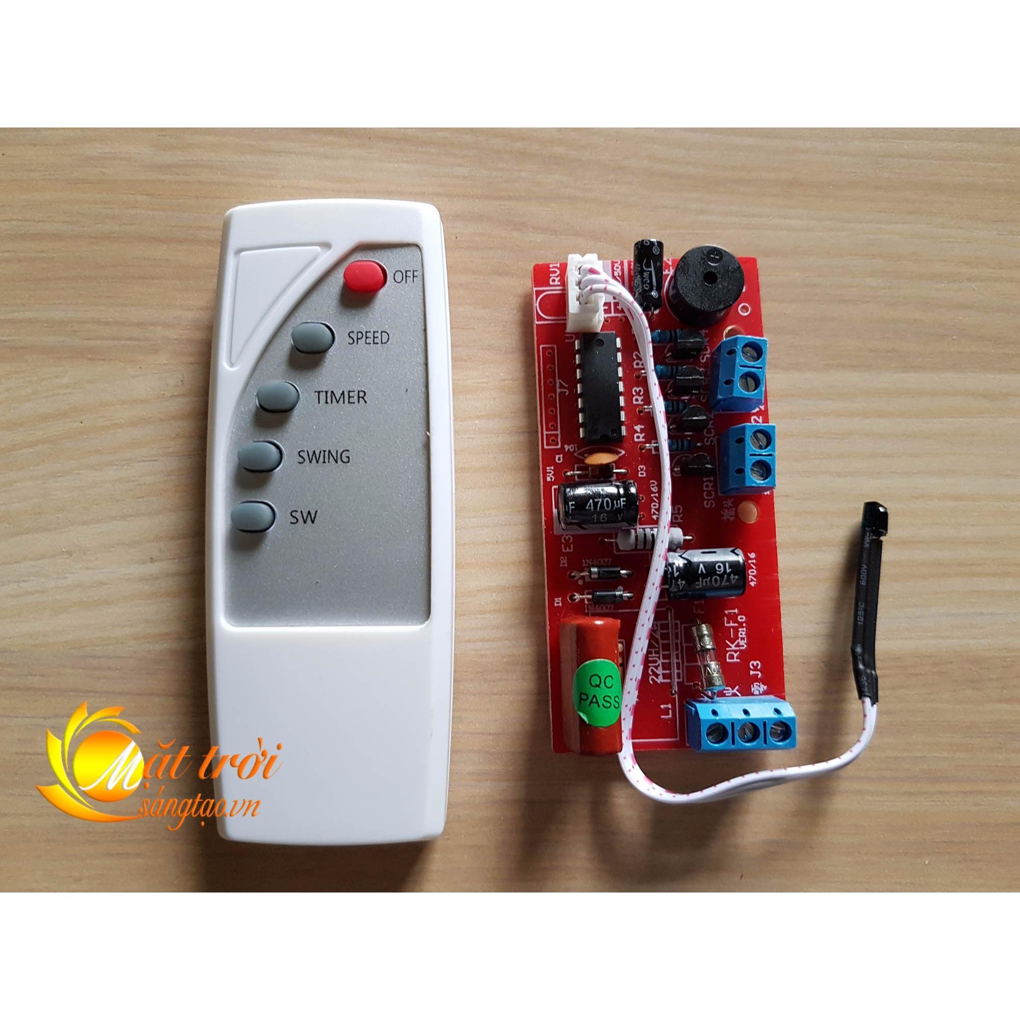 Hình ảnh Vỉ mạch điều khiển quạt V1 MTST