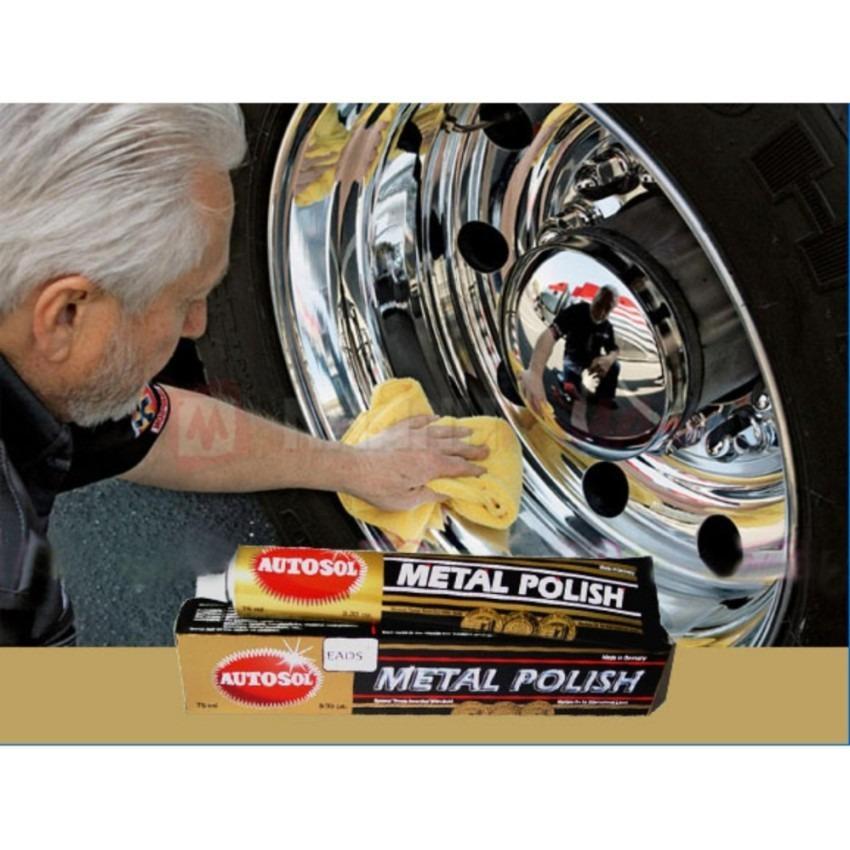 Kem đánh bóng kim loại Inox Đồng Autosol Metal Polish
