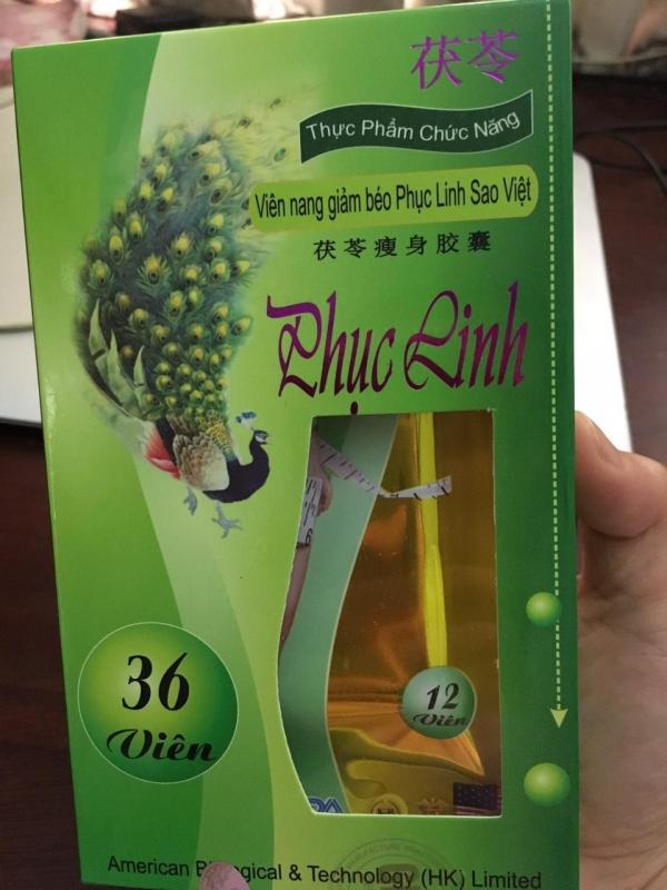 Viên uống giảm cân  Phục Linh Sao Việt ( 36 viên )
