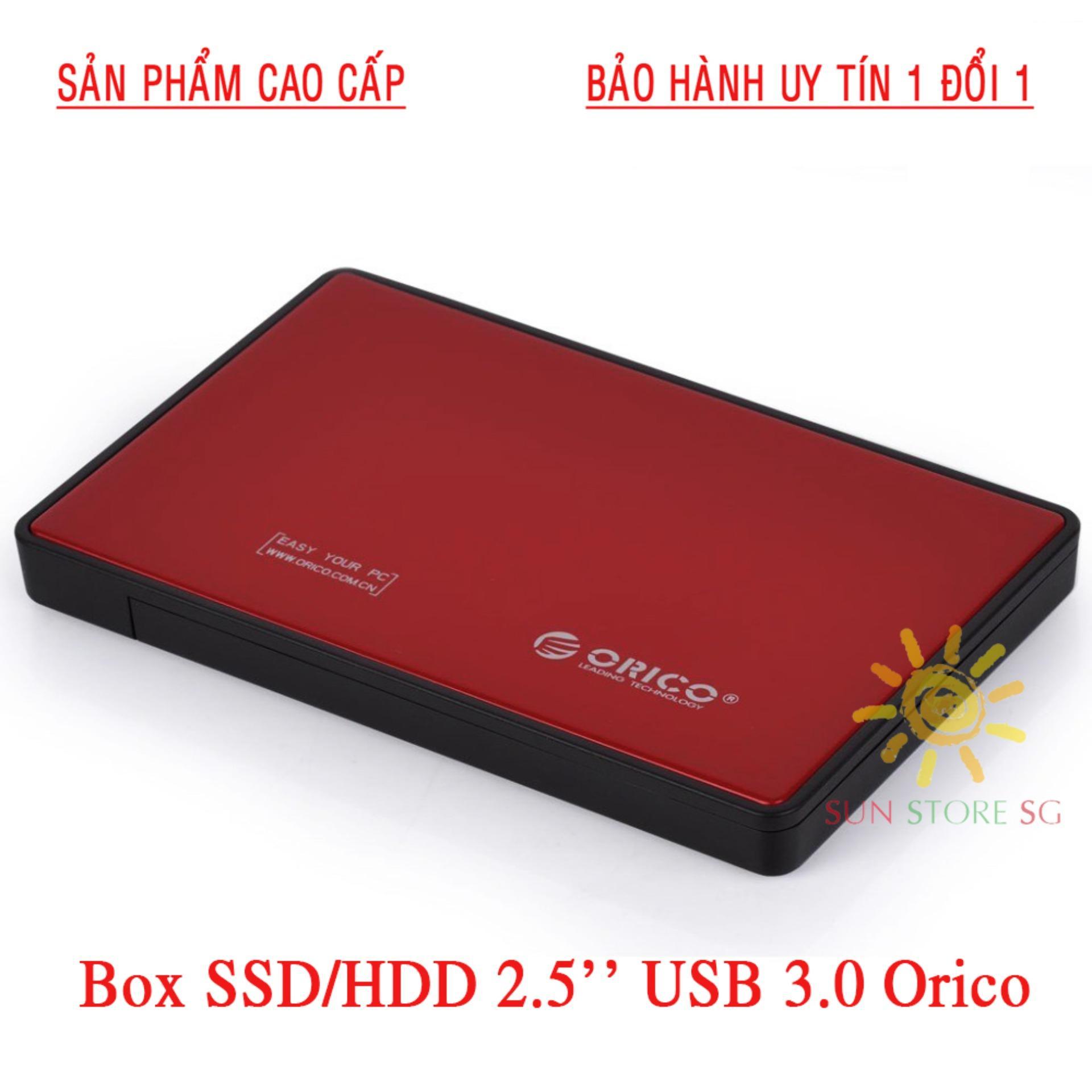 Hình ảnh Ổ Cứng Ngoài 500Gb Giá Rẻ | BOX ổ cứng di động SSD & HDD 2.5″ USB 3.0 Orico Dòng Cao Cấp | Nhập khẩu, phân phối & bảo hành 1 đổi 1 bởi SUN STORE SG