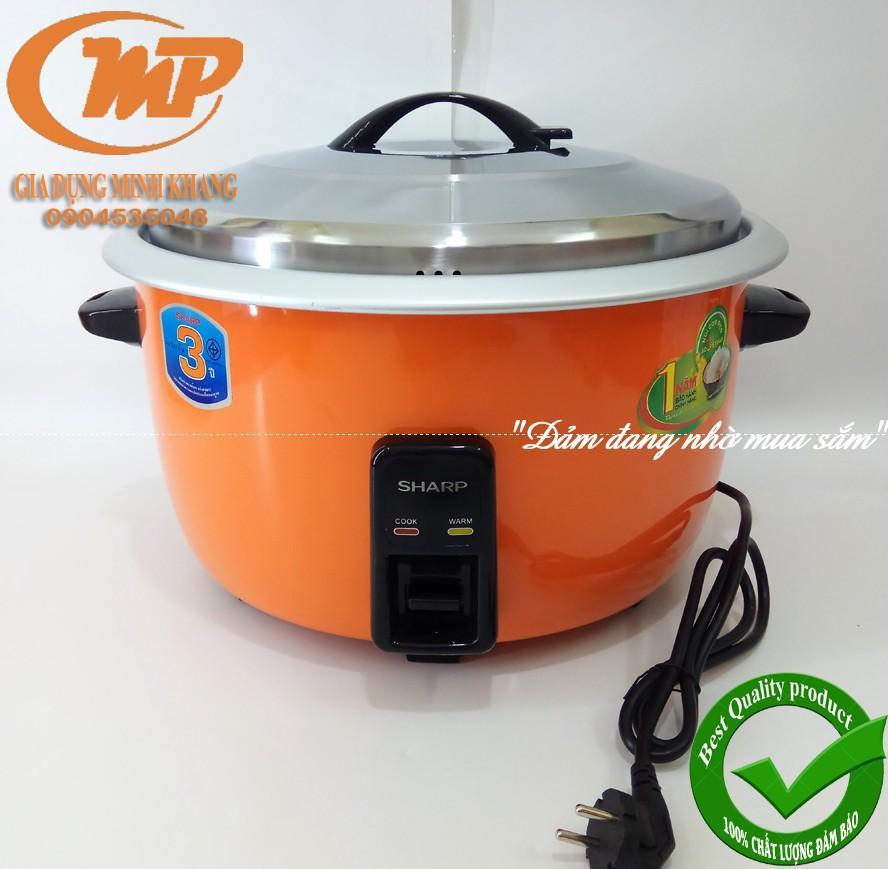 Nồi cơm công nghiệp Sharp KSH 366 Thailand 18 lít (6.6 lít cơm) Bảo hành 12 Tháng