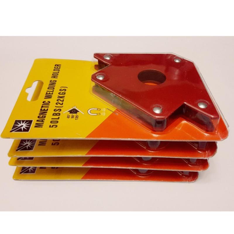Bộ 4 cái Ke góc nam châm HCM lực hút 22kg - phụ kiện  máy hàn điện mini giá rẻ