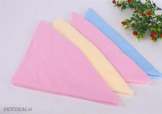 Bộ 10 chiếc tã chéo cotton màu trơn cho bé trai, bé gái thumbnail